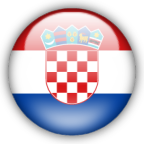 flag croatia circle